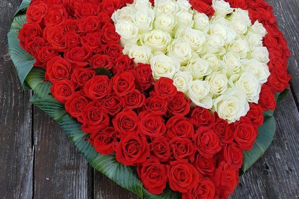 valentijns boeket bloemenloods