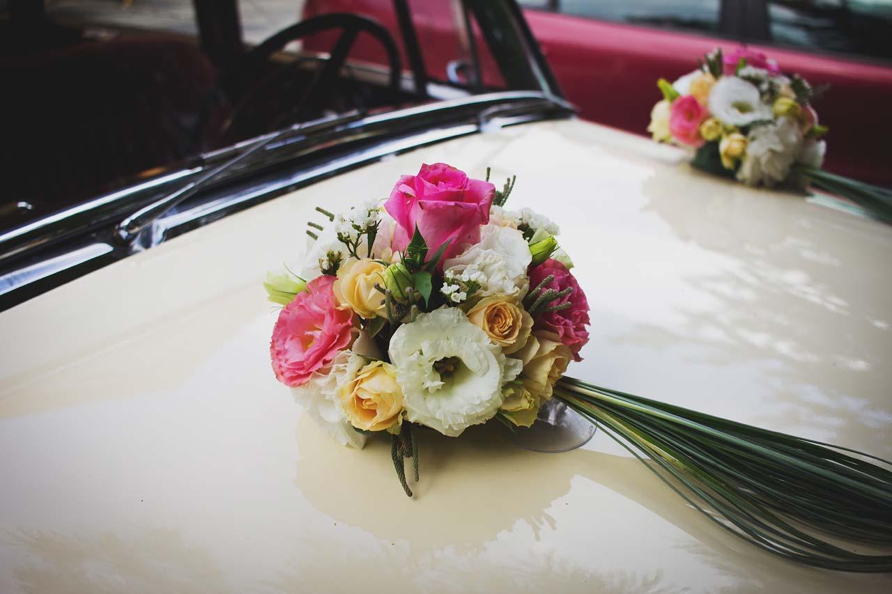 bloemen trouwerij