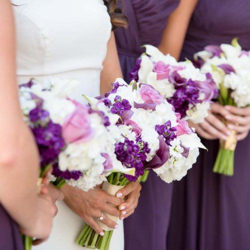 Bloemen trouwwerk